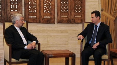 Assad says Israel destabilising Syria