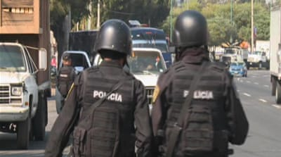 Fears of violence creeping into Mexico City