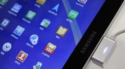 Samsung takes swipe at Apple's core market