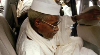 Human rights groups have welcomed Hissene Habre's arrest  [AFP]