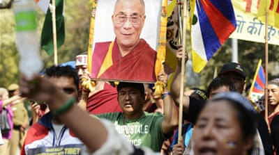 Since 2009, 107 Tibetans have set themselves on fire to protest against China's rule [AFP]