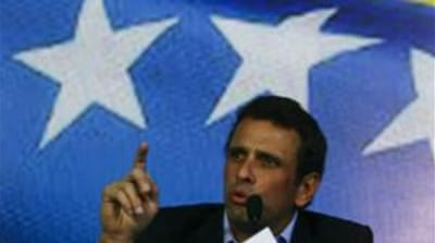 Venezuela's Capriles to run for president