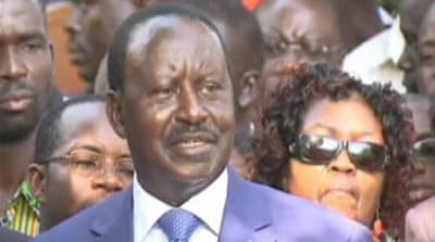 Odinga supporters voice anger at poll result