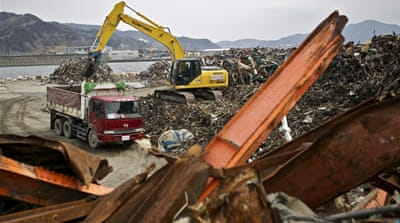 In pictures: Japan's tsunami two years later