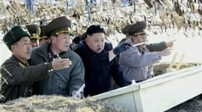North Korea warns of 'simmering nuclear war'