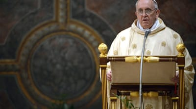 Pope Francis embarks on historic papacy