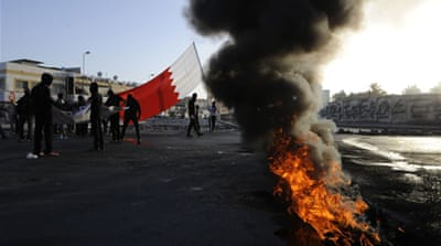 Many protesters were  wounded in clashes with security forces, according to the main opposition party [Reuters]