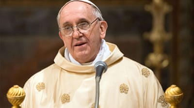 Pope Francis begins tenure with warning
