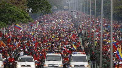 Chavez's death, like his life, shows the world's divisions