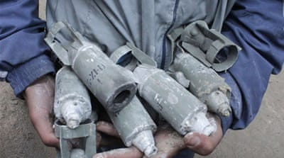 The cluster bombs have caused mounting civilian casualties in 119 locations throughout Syria  [Al Jazeera]