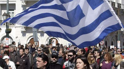 The jobless rate in Greece has almost tripled since 2009 [AFP]