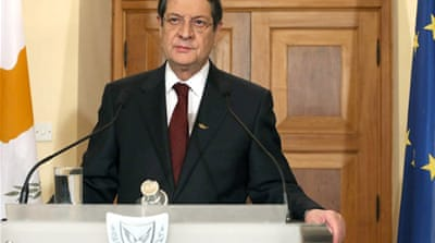 Cyprus president defends tax bailout decision