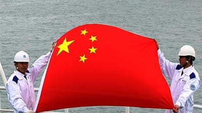 China hunts for energy in stormy waters