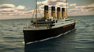 Plans of recreating legendary ship are released, with Titanic II will tentatively set sail in mid-2016 [Al Jazeera]