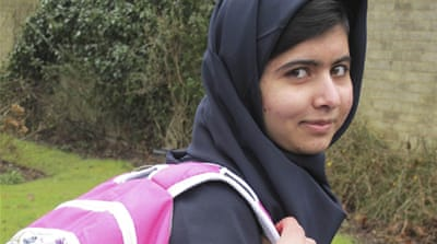 Pakistan's Malala resumes schooling in UK
