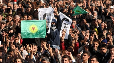 The PKK has moderated its goals from full independence to broader political and cultural autonomy [GALLO/GETTY]