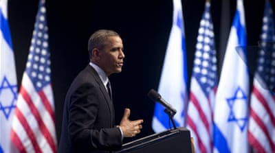 Obama backs talks for Middle East peace