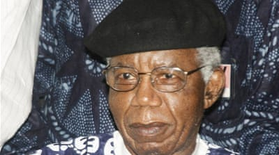 "Nelson Mandela has called Achebe a writer ""in whose company the prison walls fell down"" [AFP]"