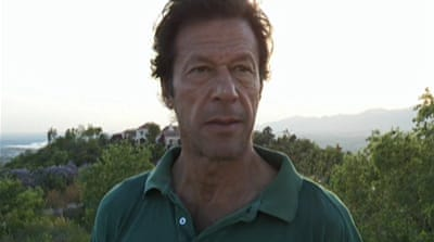 Imran Khan's battle in Pakistan politics