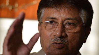 Former military ruler Musharraf is ready to return for upcoming elections after nearly five years in exile [AFP]