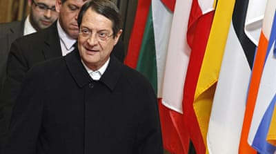 Cyprus leader rules out leaving eurozone