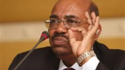 Although support for Bashir may currently be waning among some of the Arab states, public consensus in favour of his handover has yet to materialise within the Middle East and North Africa region [AP]