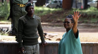 Beatrice Mtetwa was arrested last week along with four aides to prime minister Morgan Tsvangirai [Reuters]