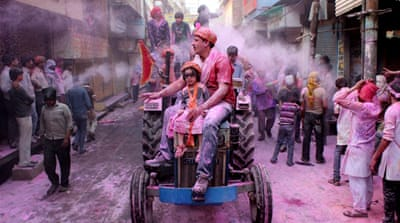 In pictures: India's festival of colours