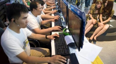 China's Gaming Industry Report 2012 predicted game sales will reach $21bn by 2017 [EPA]
