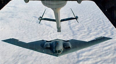 US deploys bombers amid Korea tensions