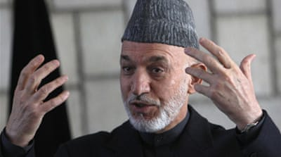 Karzai says history to judge his record