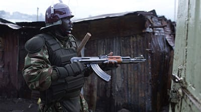 Kenya deploys forces to contain violence