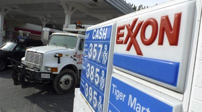 Twenty-two homes were evacuated after the Exxon Mobile pipeline leak was discovered on Friday [Reuters]