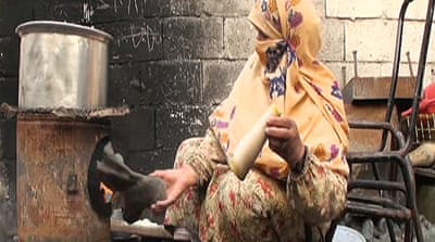 Syrians are turning to imaginative methods, such as burning boots as fuel, in order to survive [Al Jazeera]