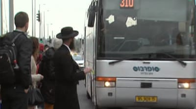Israeli segregated buses get mixed reviews