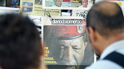 Death of a 'dictator': Chavez and the media