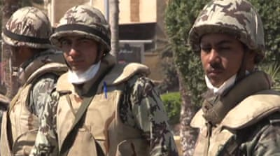 Army in a bind over Egyptian city unrest