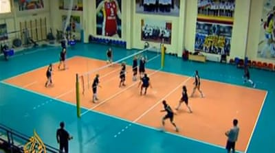 Azerbaijan volleyball enjoys foreign influx