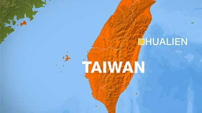 Earthquake shakes buildings in Taiwan