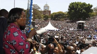 Kenyan women march towards political equality