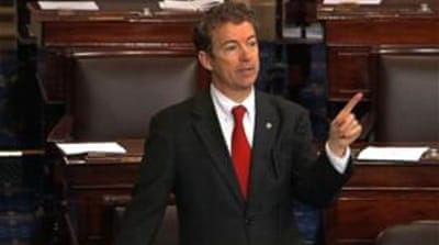 "In the words of Senator Rand Paul, Obama crowned himself ""judge, jury and executioner all in one"" [AP]"