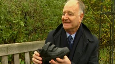 GPS shoes give dementia sufferers freedom