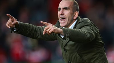 Di Canio's infamous salute to Lazio fans in 2005 earned him a ban and fine from FIFA [AFP]