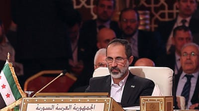 Moaz al-Khatib: The priority is to save Syria