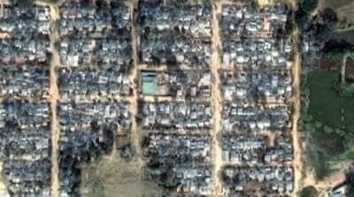 Satellite images analysed by Human Rights Watch show the scale of the destruction in Meiktila [Al Jazeera]