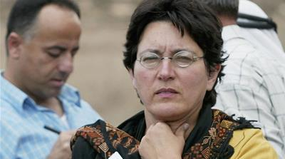 """Hass' critical voice is well-known. During her many years of reporting, she has covered the daily experiences and dynamics in and from Palestine,"" say Gordon and Perugini [Getty Images]"