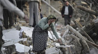 Iran says quake relief efforts stepped up
