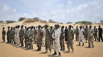 Army commanders often denied rape allegations, laying the blame on al-Shabab rebels disguised as soldiers [Reuters]