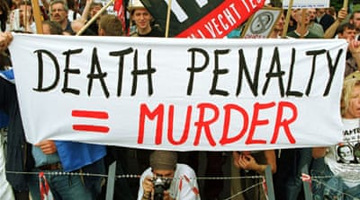 Despite setbacks, Amnesty is encouraged by signs of progress in the trend toward ending the death penalty [AFP]