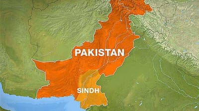 Map of Sindh province in Pakistan [Al Jazeera]